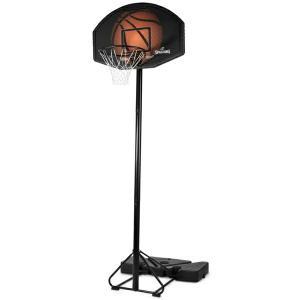 44インチ エココンポジットポータブル 家庭用/高さ調節可能 メーカー直送品 SPALDING スポルディング バスケ 家庭用バスケットゴール バスケットボール リング fitnessclub-y