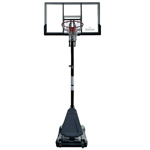 54インチ ゴールドTFポータブル 家庭用/高さ調節可能 メーカー直送品 SPALDING スポルディング バスケ 家庭用バスケットゴール バスケットボール リング fitnessclub-y