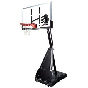 54インチ プラチナ TFポータブル 家庭用/高さ調節可能 メーカー直送品 SPALDING スポルディング バスケ 家庭用バスケットゴール バスケットボール リング fitnessclub-y