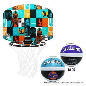 スペース・ジャム ボックスドレブロン マイクロミニ SPALDING スポルディング バスケ 子供向け 家庭用バスケットゴール バスケットボール リング シュート練習 fitnessclub-y