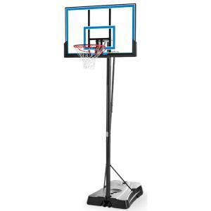 48インチ ゲームタイムシリーズ 家庭用/高さ調節可能 メーカー直送品 SPALDING スポルディング バスケ 家庭用バスケットゴール バスケットボール リング fitnessclub-y