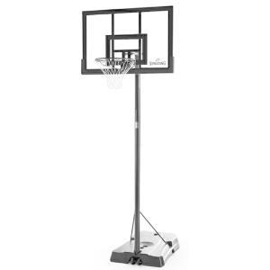 42インチ ハイライトアクリルポータブル 家庭用/高さ調節可能 メーカー直送品 SPALDING スポルディング バスケ 家庭用バスケットゴール バスケットボール リング fitnessclub-y