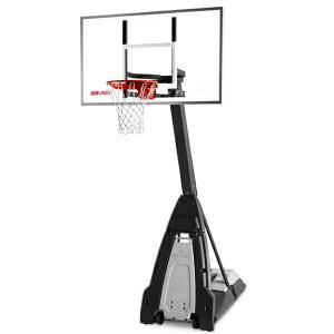 60インチ ザ・ビースト 家庭用/高さ調節可能 メーカー直送品 SPALDING スポルディング バスケ 家庭用バスケットゴール バスケットボール リング fitnessclub-y
