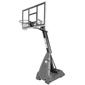 60インチ ザ・ビースト ステルス 家庭用/高さ調節可能 メーカー直送品 SPALDING スポルディング バスケ 家庭用バスケットゴール バスケットボール リング fitnessclub-y