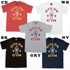 ベーシックTシャツ クラシックJ (M・L・XLサイズ) ゴールドジムウェア|fitnessclub-y