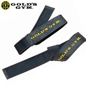 ・ゴールドジムブランドのシンプルなリストストラップ  ・プル系トレーニングの必需品  ・ナイロンパッ...