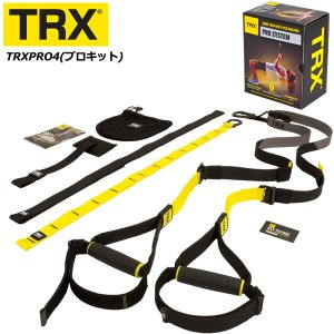 [TRX] プロキット(TRXPRO4) <サスペンショントレーナー>【TRX正規品】〔日本語版動画ダウンロード可能〕|fitnessclub-y
