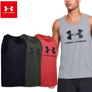 アンダーアーマー UAスポーツスタイル ロゴ タンク(メンズ)|fitnessclub-y