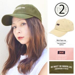 【SALE】 帽子 ミニロゴキャップ帽子CAPベースボールキャップつばあり日よけロゴ刺繍綿デニムメーカー fitpromotion