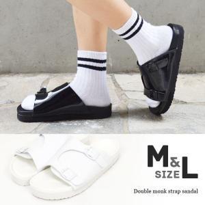 【SALE】Wモンクストラップサンダル靴軽量スポーツサンダルスポサンフットベッドコンフォートカジュアルリゾートメーカーgos|fitpromotion