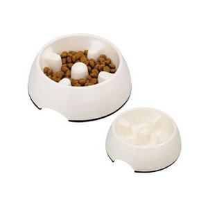 KONOKO ゆっくり食べれる食器 S[猫用食器 フードボール]|five-1