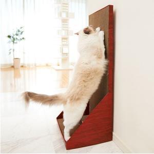 エイムクリエイツ ミュー(mju:) ガリガリウォール スクラッチャー プラス またたび付 猫用[猫用爪とぎ]|five-1