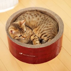エイムクリエイツ ミュー(mju:) ガリガリサークル スクラッチャー またたび付 猫用つめとぎ|five-1