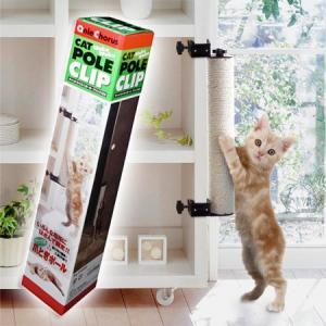 アニーコーラス キャットわくわくポール クリップ400 猫用[猫用爪とぎ]|five-1