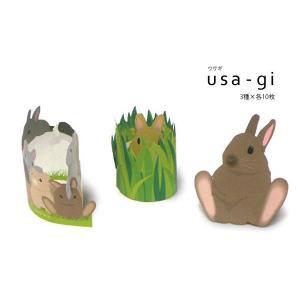 カミテリア クルル usa-gi ウサギ メモ帳  メール便可|five-1