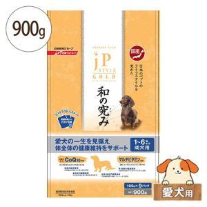 ジェーピースタイル ゴールド 和の究み 犬用 1〜6歳までの成犬用 900g(ドライタイプ)[ドッグフード ドライフード] five-1