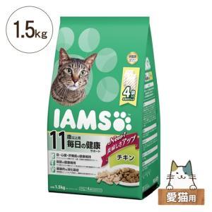 アイムス 猫用ドライフード 11歳以上用(シニア) 毎日の健康サポート チキン 1.5kg(375g×4) five-1