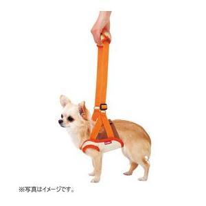 ペティオ 介護用ハーネス zuttone 老犬介護用 歩行補助ハーネス 前足用 S(4kgまでの超小型犬用)|five-1