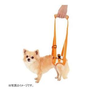 ペティオ 介護用ハーネス zuttone 老犬介護用 歩行補助ハーネス 後足用 S(4kgまでの超小型犬用)|five-1