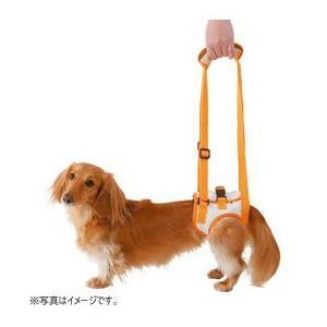 ペティオ 介護用ハーネス zuttone 老犬介護用 歩行補助ハーネス 後足用 M(7kgまでの小型犬用)|five-1