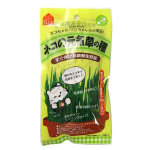 ネコの元気草の種 胃の中スッキリ お買い得な5回分 15g×5袋(容器なし) 毛玉対策 サプリメント|five-1