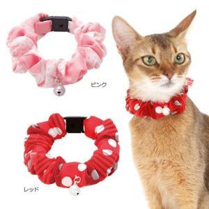 アドメイト キャットカラー シュシュ Doux(ドゥー) 猫用首輪 five-1