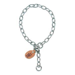 オーバルチェーンカラー サイズ#55 中型犬 犬用首輪|five-1