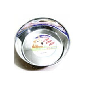 ステンレスを使用した犬用皿型食器。サビに強い良質ステンレスを使用。  サイズ:230×570×72m...