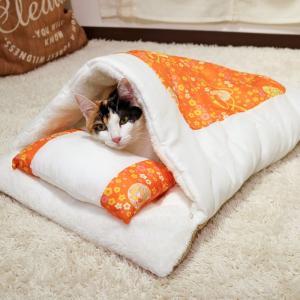 ドギーマン 和にゃんこびより おふとん てまり 猫用
