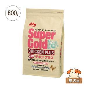 ドライドッグフード スーパーゴールド チキンプラス 子犬用 800g|five-1