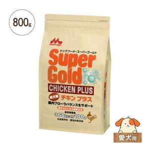 ドライドッグフード スーパーゴールド チキンプラス 成犬用 800g|five-1
