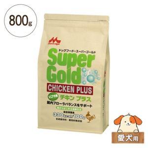 ドライドッグフード スーパーゴールド チキンプラス シニア犬用 800g|five-1