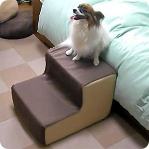 犬用階段 わんちゃんステップ 1,2,3.  2段 3段 スロープ ペット用 登り台 ドッグステップ|five-1