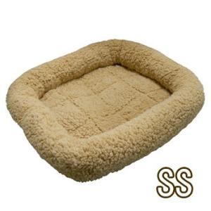 ペットプロ マイライフベッド SSサイズ ライトブラウン 犬・猫用 犬用ベッド(一般)|five-1