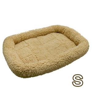 ペットプロ マイライフベッド Sサイズ ライトブラウン 犬・猫用 犬用ベッド(一般)|five-1