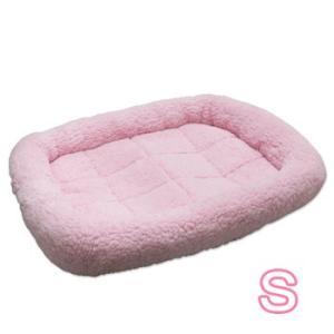 ペットプロ マイライフベッド Sサイズ ピンク 犬・猫用 犬用ベッド(一般)|five-1