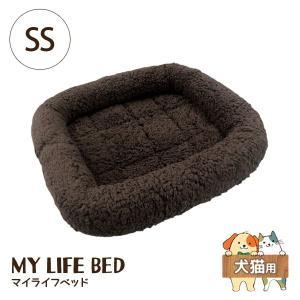 ペットプロ マイライフベッド SS ダークブラウン 犬猫用 犬用ベッド(一般)|five-1