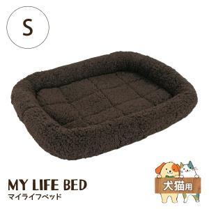 ペットプロ マイライフベッド S ダークブラウン 犬猫用 犬用ベッド(一般)|five-1