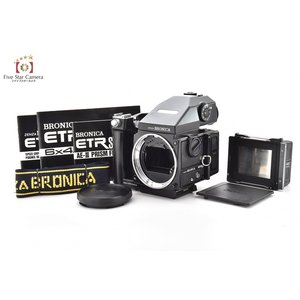 【中古】BRONICA ブロニカ ETR-Si + AE-III プリズムファインダー
