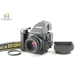 【中古】BRONICA ブロニカ ETR-Si AE-III プリズムファインダー + PE 75mm f/2.8