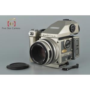 【中古】ZENZA BRONICA ゼンザブロニカ ETRSi 40周年記念モデル + ZENZANON PE 75mm f/2.8