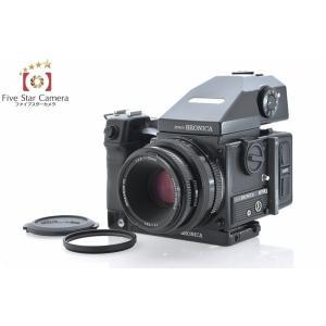 【中古】BRONICA ブロニカ ETR-Si AE-III プリズムファインダー付属 + ZENZANON PE 75mm f/2.8