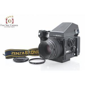 【中古】ZENZA BRONICA ゼンザブロニカ GS-1 + ZENZANON-PG 100mm f/3.5 + AEプリズムファインダーG