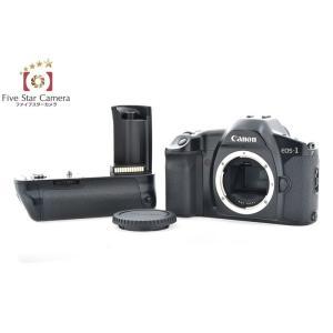 【中古】Canon キヤノン EOS-1HS + PB-E1 パワードライブブースター