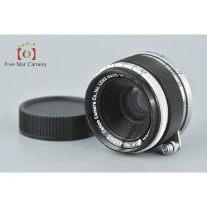 【中古】Canon キヤノン 35mm f/2.8 L39 ライカスクリューマウント