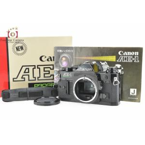 【中古】Canon キヤノン AE-1 PROGRAM ブラック フィルム一眼レフカメラ