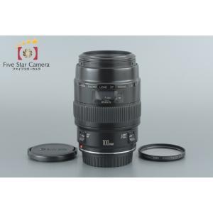 【中古】Canon キヤノン EF 100mm f/2.8 MACRO