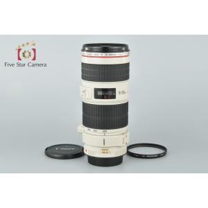 【中古】Canon キヤノン EF 70-200mm f/4 L IS USM