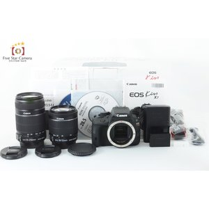 【中古】Canon キヤノン EOS Kiss X7 ダブルズームキット