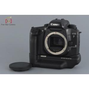 【中古】Canon キヤノン EOS 7 + BP-300 バッテリーパック